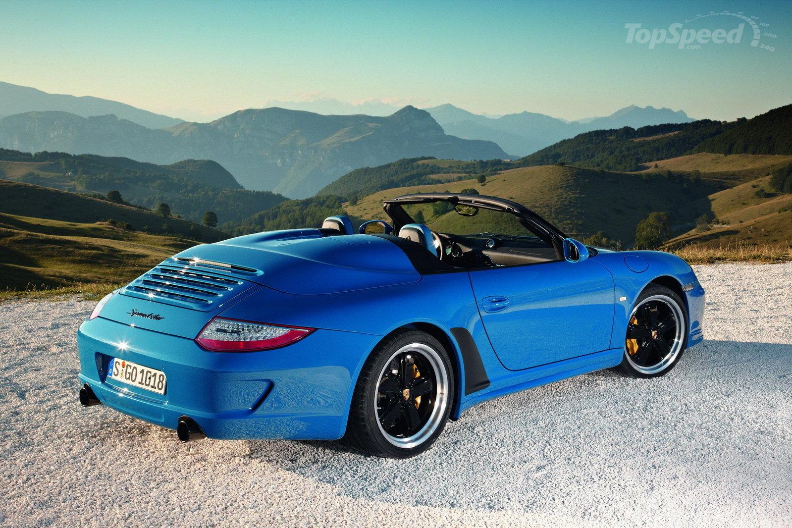 2010 Porsche 911 Speedster Wallpapers