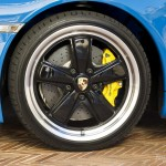 2010 blue Porsche 911 Speedster Wheel