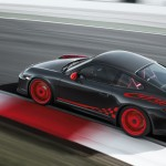 2010 Grey Black Guards Red Porsche 911 GT3 RS wallpaper Side angle top view