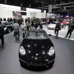 2011 Geneva Motor Show Porsche Boxster S Black Edition