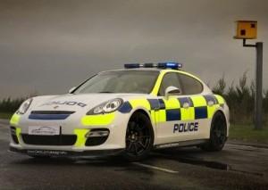 2011 Police Porsche Panamera Turbo