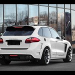 2011 TopCar Porsche Cayenne Vantage GTR-2 Rear Angle 1280x960