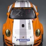 2011 Porsche 911 GT3 R Hybrid 2.0 Front top view