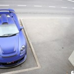 2011 Porsche Carerra GT Gemballa Mirage GT Matte Blue 1024x768 Front top view