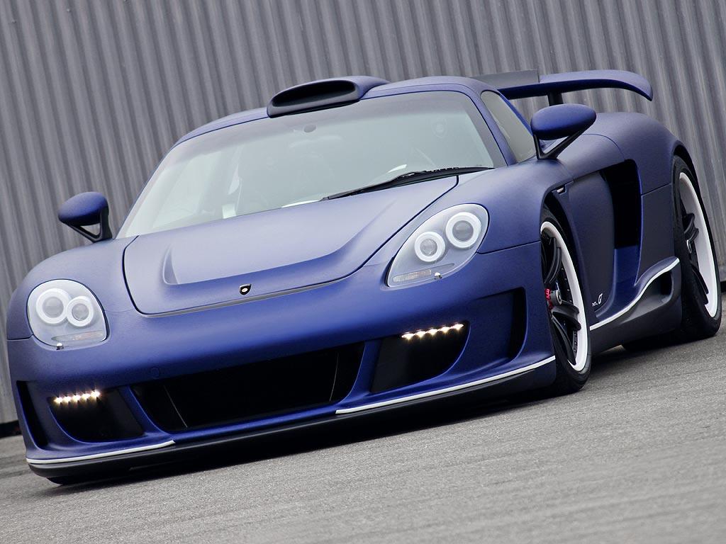 2011 Porsche Gemballa Mirage GT Matte Blue Edition