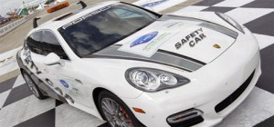 2011 Porsche Panamera Turbo ALMS safety car