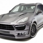 2011 Porsche Cayenne Guardian by Hamann Front angle view