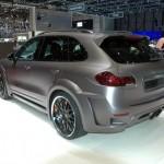 2011 Porsche Cayenne Guardian by Hamann Geneva Motor Show Rear angle view
