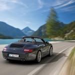 2011 Porsche 911 Black edition Rear angle view