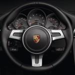 2011 Porsche 911 Black edition Steering wheel