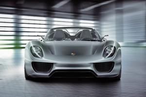 2011 Porsche 918 Spyder Hybrid Front view