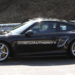 2012 Porsche 911 (991) spy shots Side view