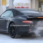 2012 Porsche 911 (991) cabriolet spy shots