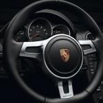 2012 Porsche Boxster S Black Edition Steering wheel