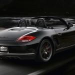 2012 Porsche Boxster S Black Edition Rear angle view