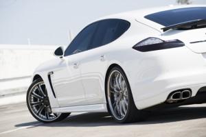 Octavio Dotel's 2010 PorschePanamera Turbo Rear angle view