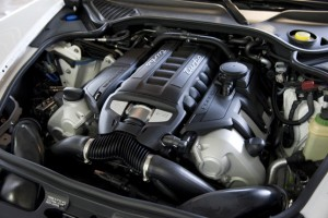 Octavio Dotel's 2010 PorschePanamera Turbo Engine