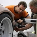 Porsche 911 Singer Design production wheel