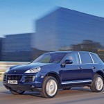 Porsche Cayenne 2008 1600x1200 wallpaper Side angle view