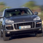 Porsche Cayenne 2008 1600x1200 wallpaper Front view