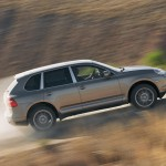 Porsche Cayenne 2008 1600x1200 wallpaper Side view