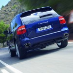Porsche Cayenne 2008 1600x1200 wallpaper Rear view
