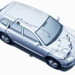 Porsche Cayenne 2008 1600x1200 wallpaper Top view