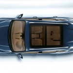 Blue Metallic Porsche Cayenne Diesel 2011 3000x1560 wallpaper Top view