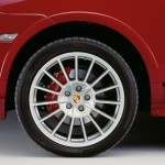 Red Porsche Cayenne GTS 2008 1600x1200 wallpaper Wheel