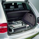 Classic Silver Metallic Porsche Cayenne Hybrid 2008 1600x1200 wallpaper Rear view
