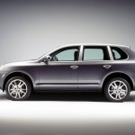 Porsche Cayenne S 2004 1600x1200 wallpaper Side view