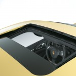 Yellow Porsche Cayenne S 2011 3000x1560 wallpaper Roof