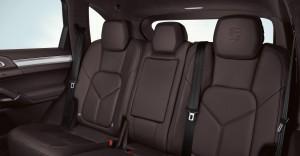Sand White Porsche Cayenne S Hybrid 2011 3000x1560 wallpaper Interior Seats
