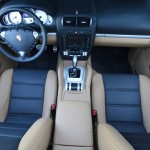 Red Porsche Cayenne S Titanium 2006 1600x1200 wallpaper Interior