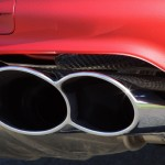 Red Porsche Cayenne S Titanium 2006 1600x1200 wallpaper Exhaust