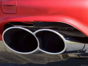 Red Porsche Cayenne S Titanium 2006 1600x1200 wallpaper Exhaust