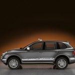 Umber Metallic Porsche Cayenne S Transsyberia 2010 1600x1200 wallpaper Side view