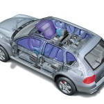 Porsche Cayenne Turbo 2004 1600x1200 wallpaper Top angle view Chassis
