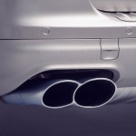 Umber Metallic Porsche Cayenne Turbo S 2006 1600x1200 wallpaper Exhaust