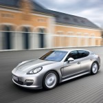 Porsche Panamera 2010 1600x1200 wallpaper Side angle view