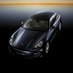 Porsche Panamera 2010 1600x1200 wallpaper Front angle top view