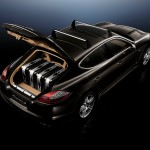 Porsche Panamera 2010 1600x1200 wallpaper Angle top view