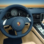 Porsche Panamera 2010 1600x1200 wallpaper Steering wheel