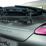 Porsche Panamera 2010 1600x1200 wallpaper Rear view