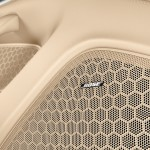 Aqua Blue Metallic Porsche Panamera 4S 2011 wallpaper Interior Bose audio