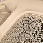 Aqua Blue Metallic Porsche Panamera 4S 2011 wallpaper Interior Bose audio