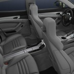 Cristal Green Metallic Porsche Panamera S Hybrid 2011 wallpaper Interior