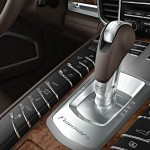 GT Silver Metallic Porsche Panamera Turbo 2011 wallpaper Interior Gear box