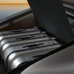 GT Silver Metallic Porsche Panamera Turbo 2011 wallpaper