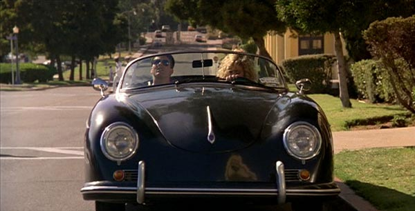 Porsche 356 Speedster in Top Gun with Tom Cruise